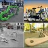 Самые необычные велосипедные парковки в мире. (19 фото)