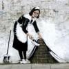 Великолепный стрит арт от Banksy (28 фото)