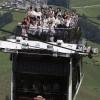 Фото. Первый в мире двухэтажный воздушный трамвай. (7 фото)