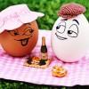 Фото. Прикольные рисунки на яйцах от Egg. (20 фото)
