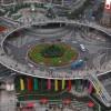 Фото. Мост-кольцо в Шанхае. (7 фото)