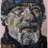 Портреты из бытового мусора от Zac Freeman. (14 фото)