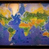 Стеклянная карта мира от Криса Чемберлнена. (11 фото)