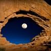 Фото дня. Глаз луны.
