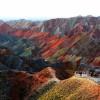 Захватывающие фотографии красочных скал в Китае. (8 фото)