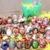 Прикольные рисунки на яйцах от Barak Hardley. (5 фото)