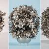 Фантастические композиции из столовых приборов. (7 фото)