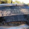 Шедевры на грязном стекле авто. (18 фото)