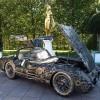 Фото. Mercedes 300 SLR из всяческого лома. (5 фото)