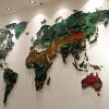Креатив. Необычная карта мира. (10 фото)