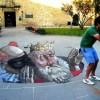 Сюрралистические 3D иллюзии на асфальте от Эдуардо Ролеро. (16 фото)