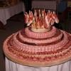 Необычный свадебный торт из Сербии. (12 фото)
