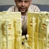 Креатив. Скульптуры из масла от Випулара Азукорала. (6 фото)