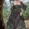 Необычные платья от Luca Meneghel. (7 фото)