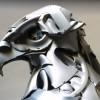 Удивительные скульптуры животных от Ptolemy Elrington. (11 фото)