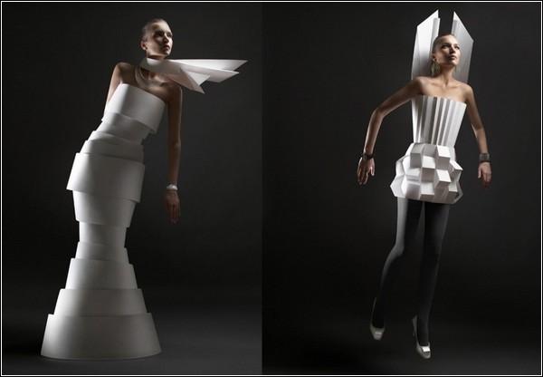 Бумажные костюмы своими руками