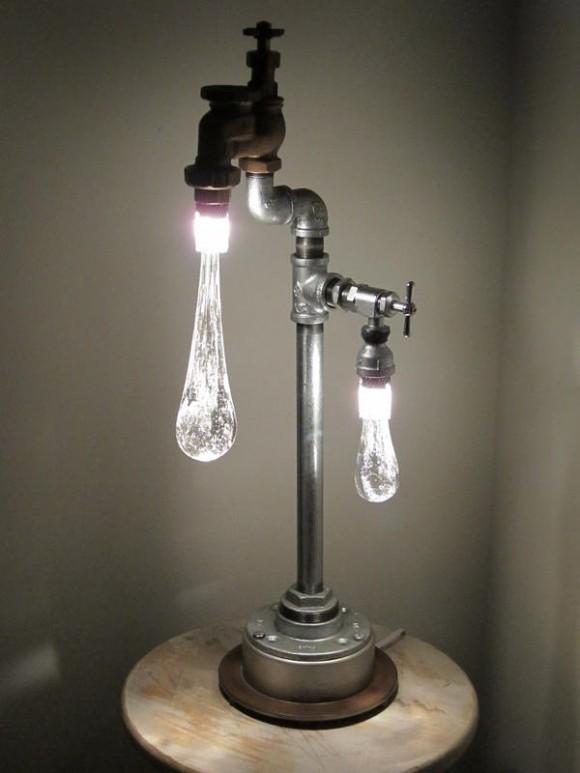 Фото необычные светильники своими руками