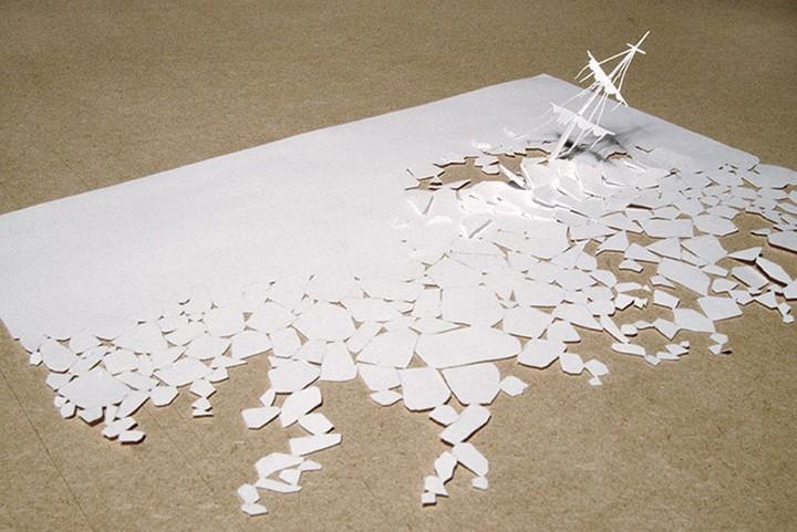 Интересные поделки из белой бумаги своими руками