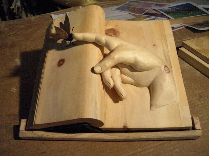 Книга по дереву своими руками
