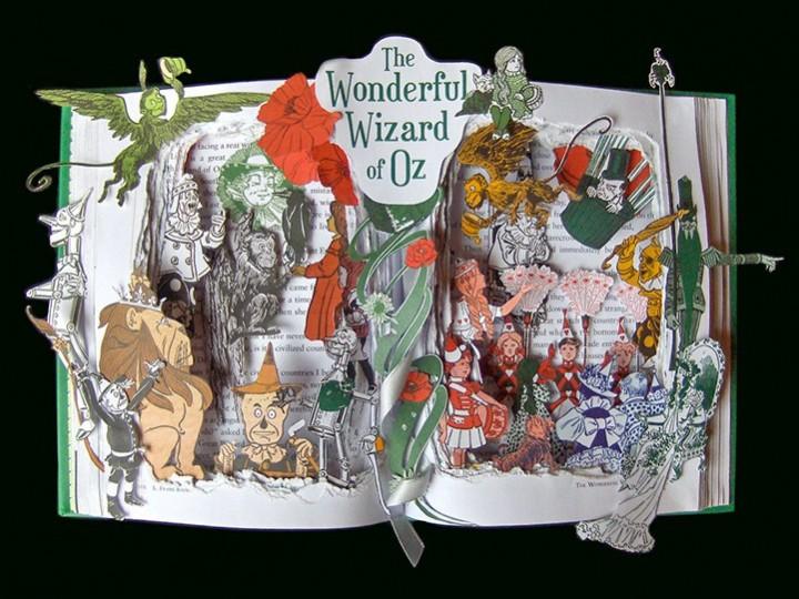 Удивительные коллажи из книг от Kelly Campbell Berry. (2)