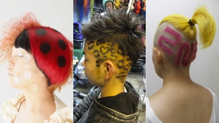 нестандартные прически для волнистых тинейджерских волос фото