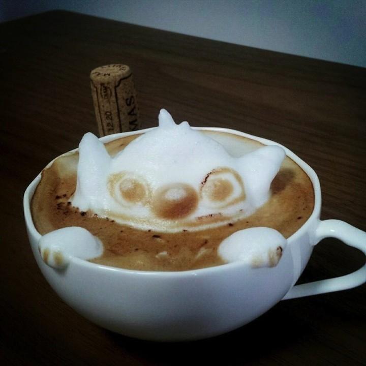 3D Latte Art (5)