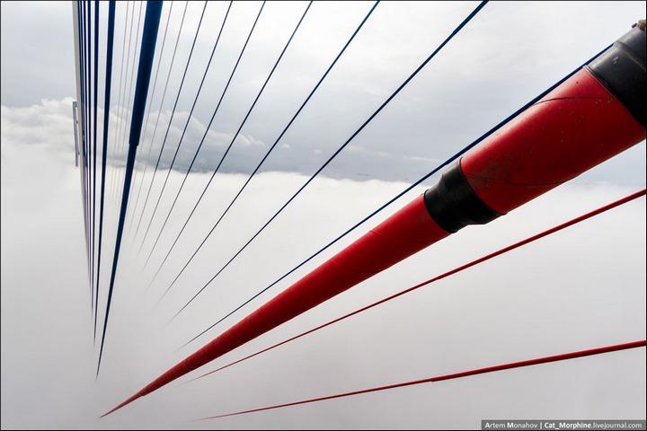 Восхождение на вантовый мост во Владивостоке (10)
