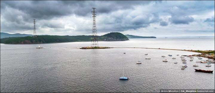 Восхождение на вантовый мост во Владивостоке (13)