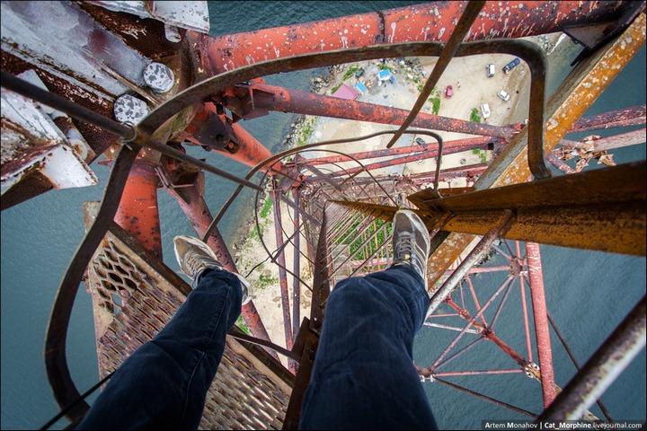 Восхождение на вантовый мост во Владивостоке (16)