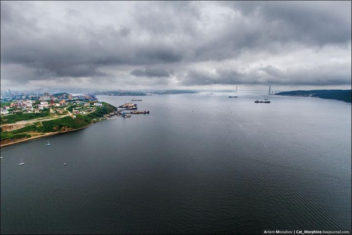 Восхождение на вантовый мост во Владивостоке (20)