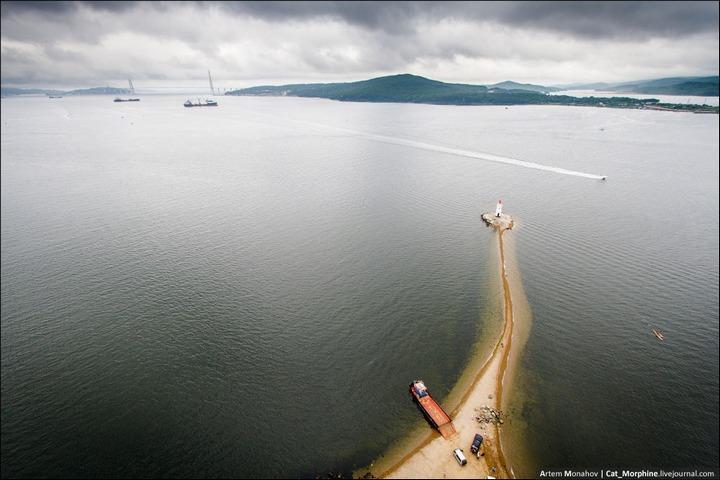Восхождение на вантовый мост во Владивостоке (21)