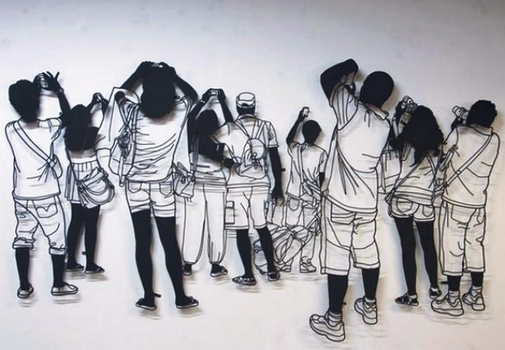 Креатив. Скульптуры из проволоки (15)