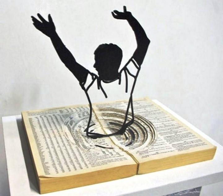 Креатив. Скульптуры из проволоки (7)