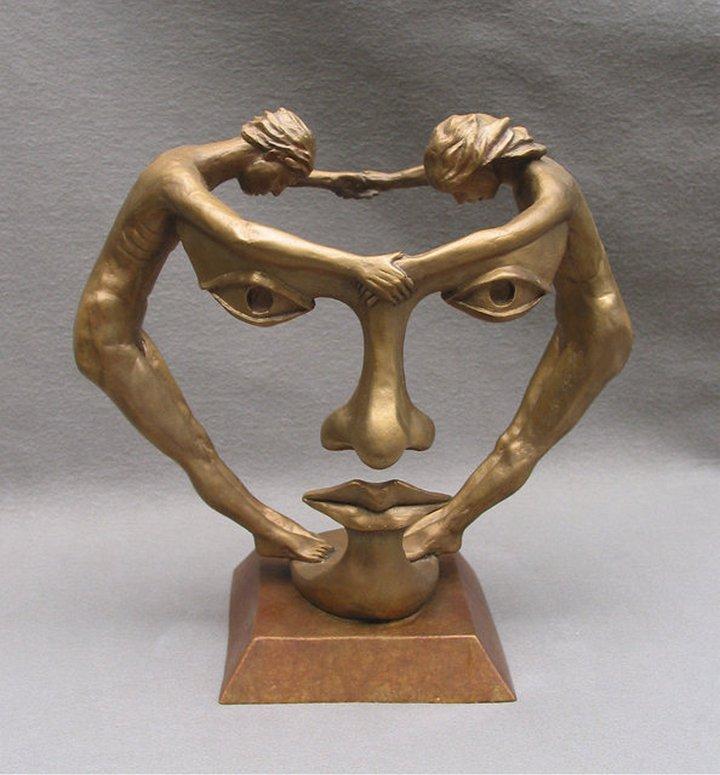 Сюрреалистические скульптуры (1)
