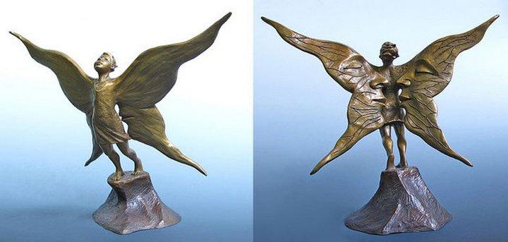 Сюрреалистические скульптуры (6)