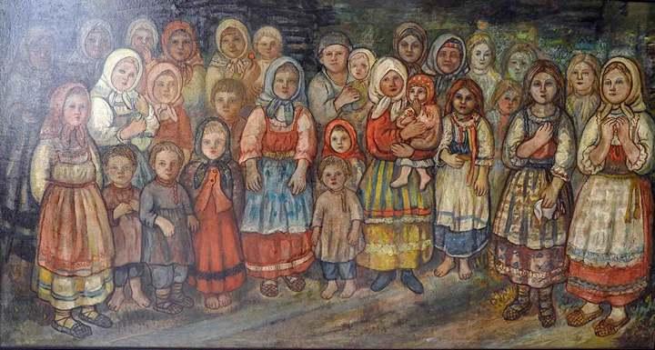 Деревенская сказка Ефима Честнякова (1)