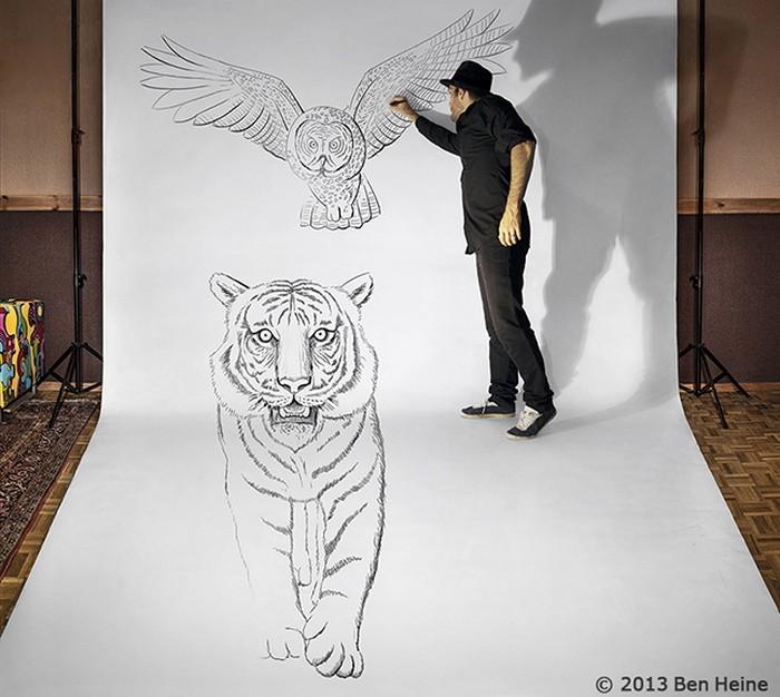 фото, креатив, необычное, 3d рисунки (1)