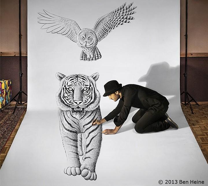 фото, креатив, необычное, 3d рисунки (2)