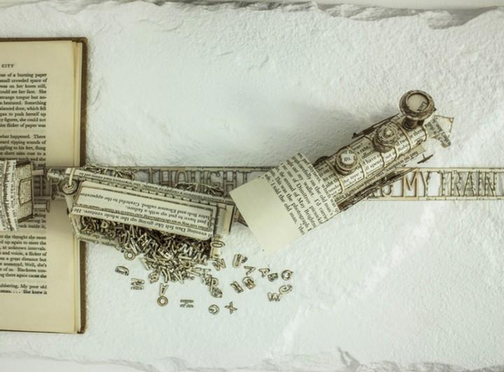 фото, креатив, скульптуры из бумаги (7)