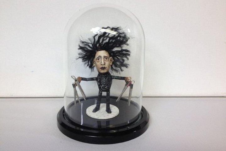 креатив, необычное, статуэтки из арахиса (12)
