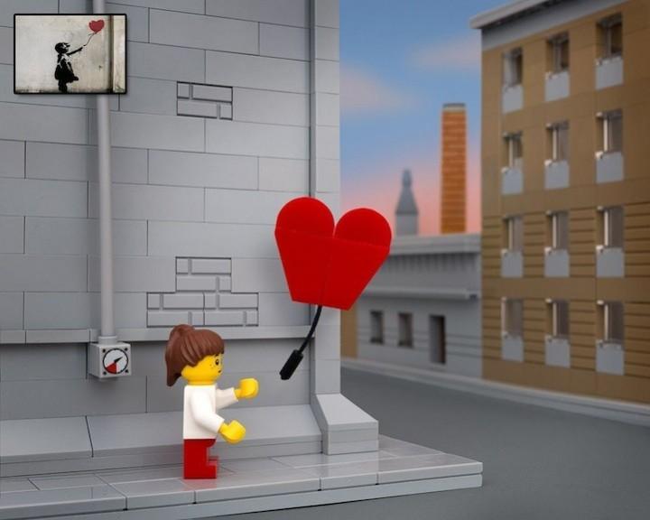 креатив, поделки из Lego, необычное (2)