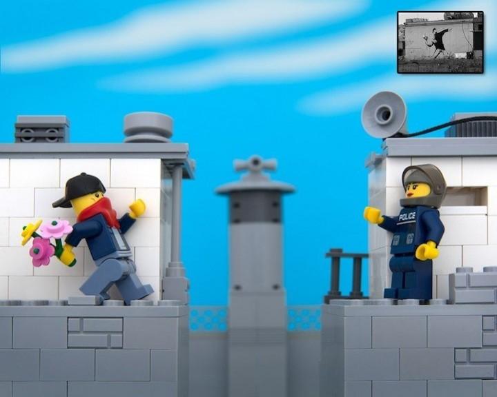креатив, поделки из Lego, необычное (3)