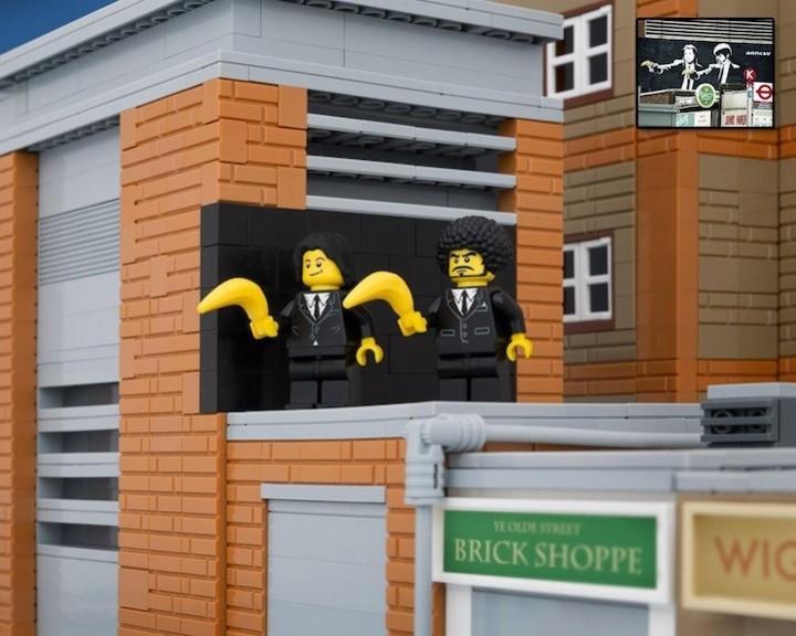 креатив, поделки из Lego, необычное (5)