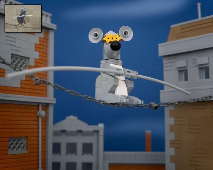 креатив, поделки из Lego, необычное (6)