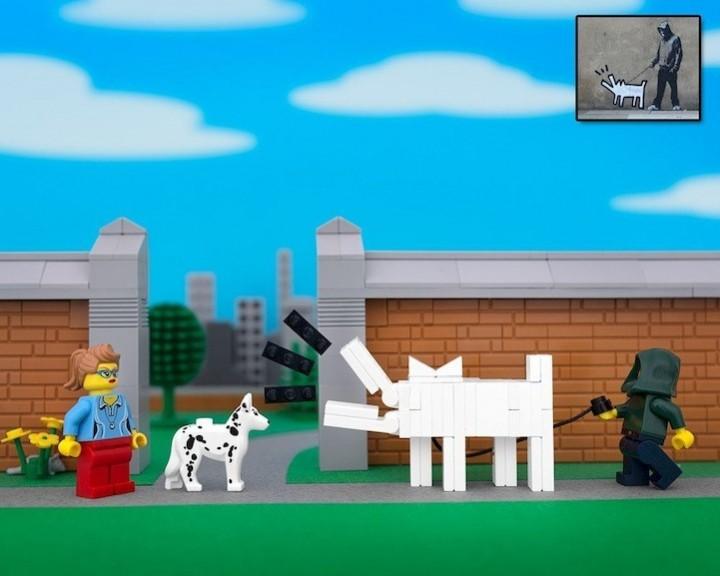 креатив, поделки из Lego, необычное (9)