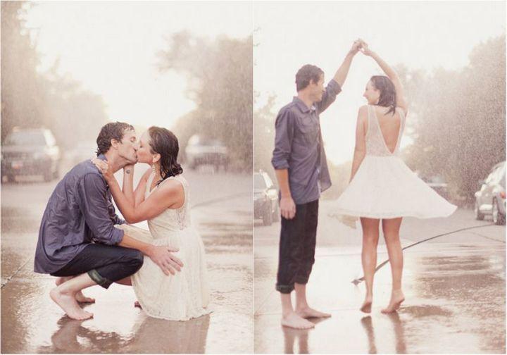 Красивые свадебные фотографии под дождем (18)