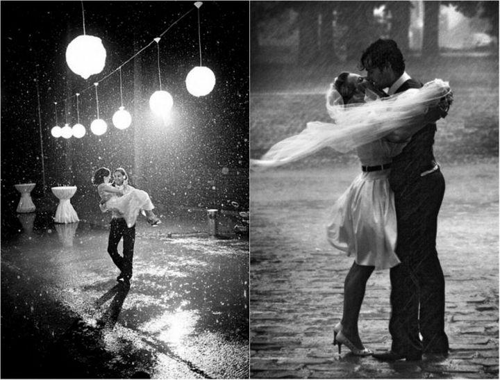 Красивые свадебные фотографии под дождем (5)
