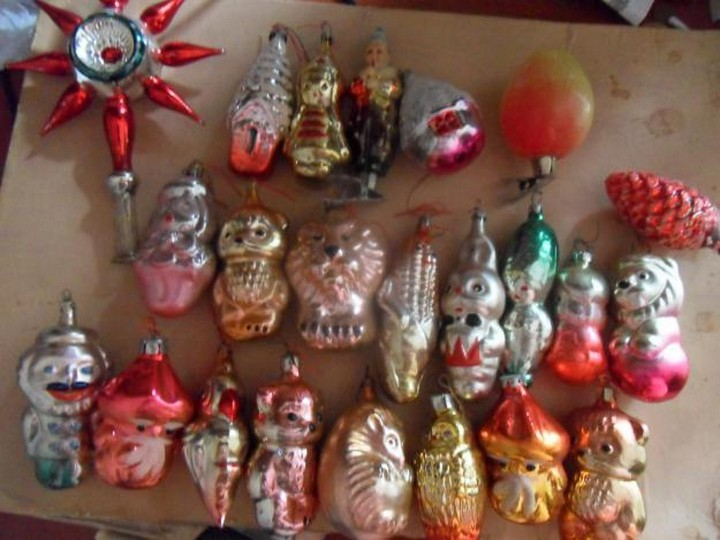 СССР, ностальгия, ёлочные игрушки (17)
