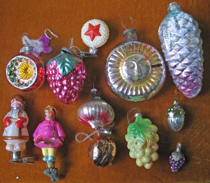 СССР, ностальгия, ёлочные игрушки (11)