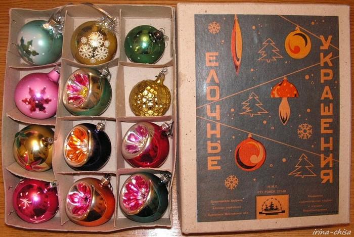 СССР, ностальгия, ёлочные игрушки (6)